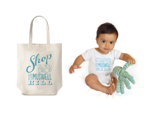 IN MUSWELL HILL BAG AND BABY