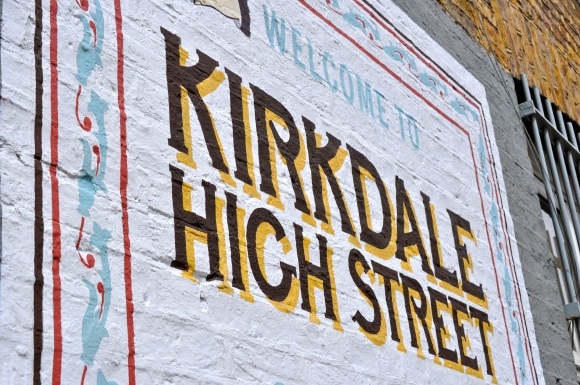 Kirkdale Signage Designed By Good People