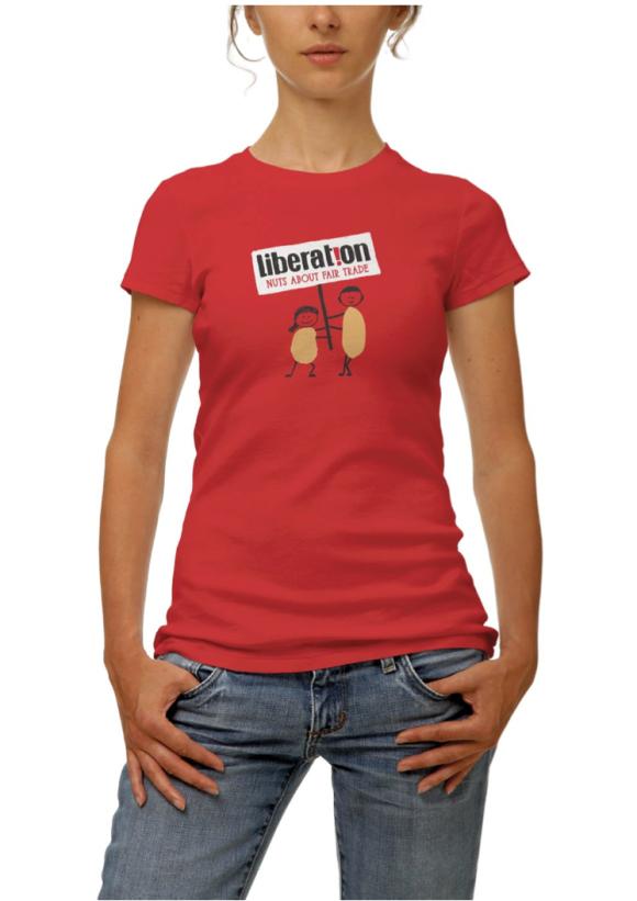 Liberation tshirt lady
