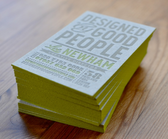 Business Card Designed By Good People
