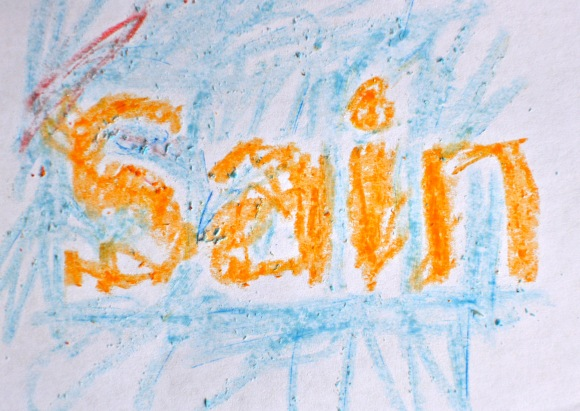 SAINBURY'S logo by thomas age 3
