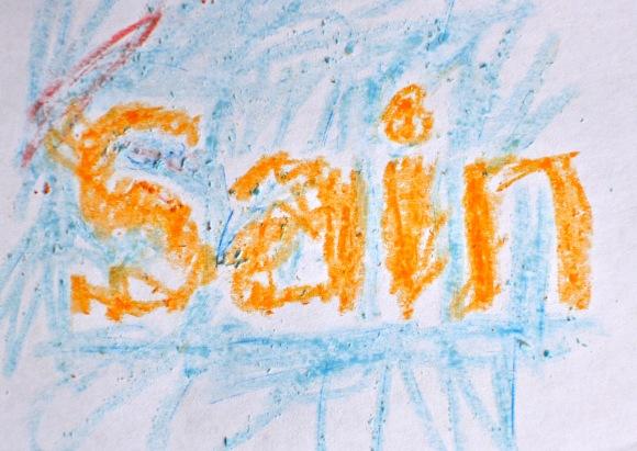 SAINBURY'S logo by thomas age 3