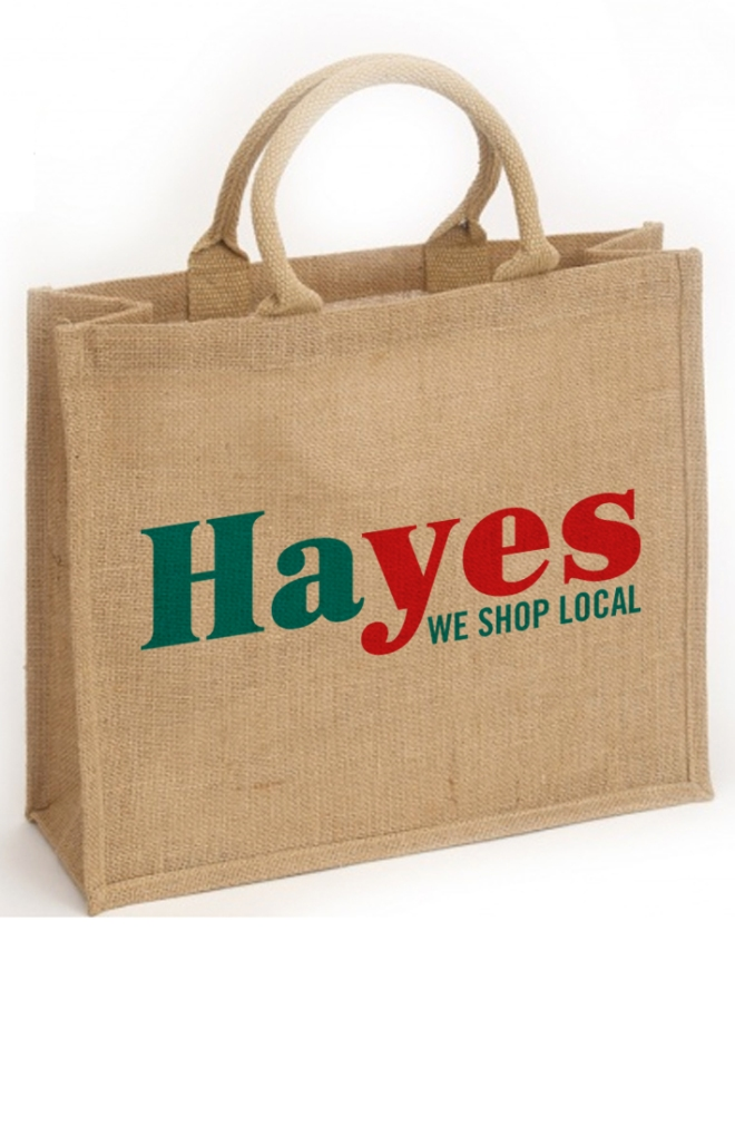 HAYES JUTE BAG