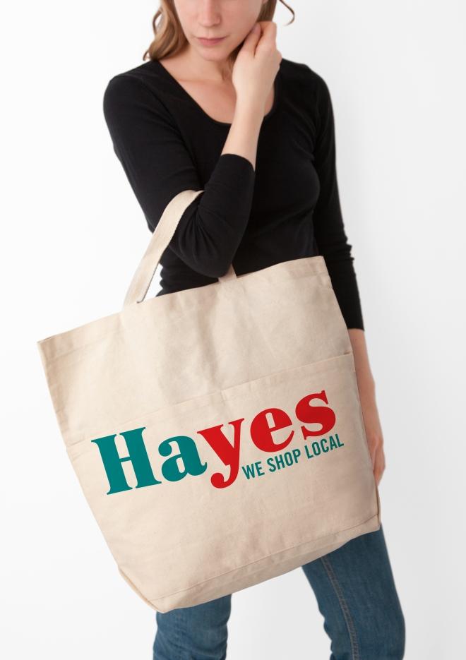 HAYES tote bag