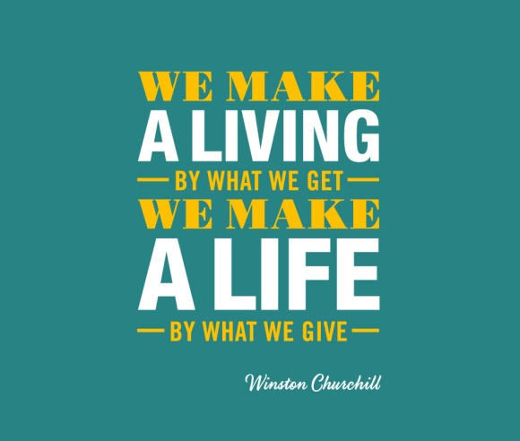 MakeALife-WinstonChurchill-Designed By Good People